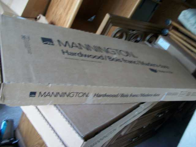 161.28 Square Foot Of Brand New Mannington Hardwood Flooring.