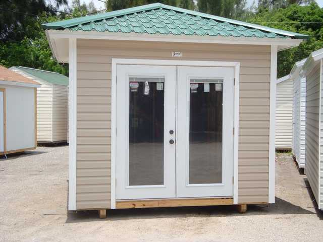 Sheds In Dade - Hurricane Resistant Sheds With Shingles