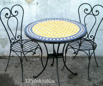 +gorgeous Moroccan Mosaic Tables +spring Sale
