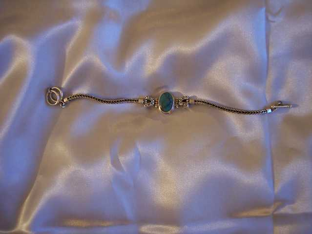 Turquoise * Amber Cuffs