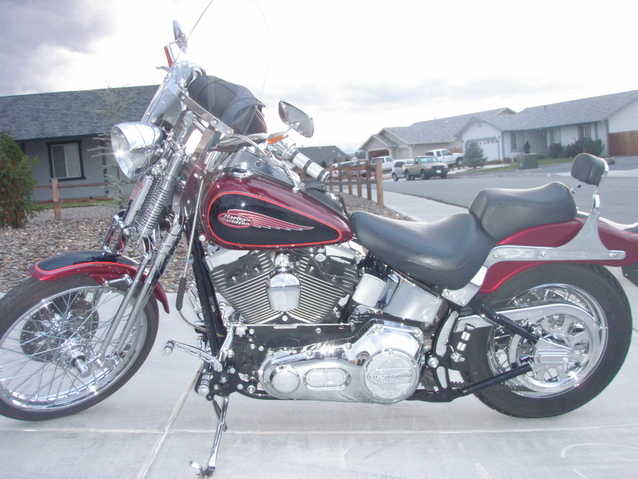 2000 Harley Davidson, Springer Softtail, Fxsts