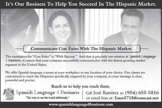Spanish Language 4 Business
