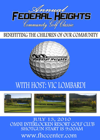 2nd Annual Federal Heights Community Golf Classic