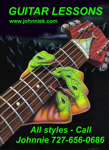 Rock - Blues & All Styles Guitar Lessons!