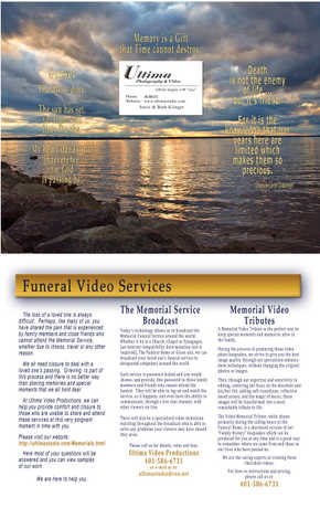Funeral Services Ri, Memorial Tribute Videos Ri