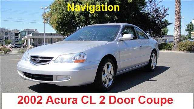 2002 Acura Cl Type - S W / Nav. Sys.