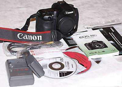 Mint Canon 40d Body