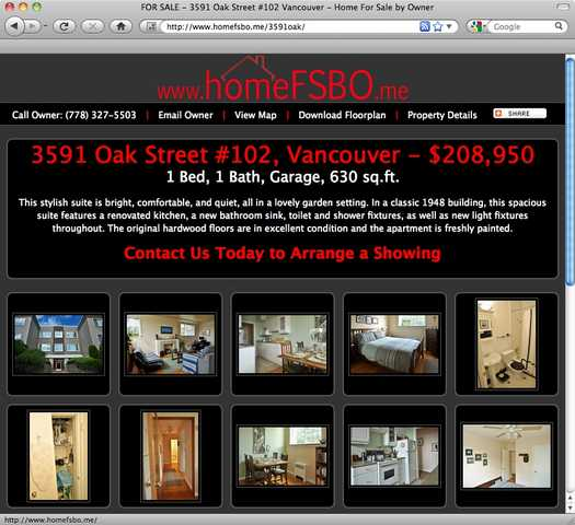 Webpages For Fsbo Home Sellers - Promotion Beyond A Yard Sign!