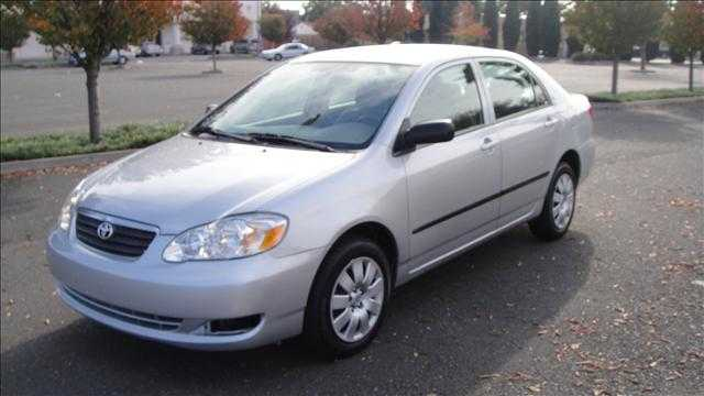 2005 Silver Toyota Corolla One Owner