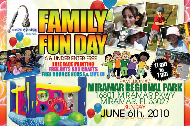 Family Fun Day Extravaganza (June 6th)