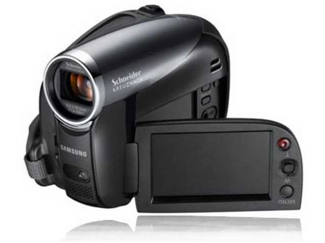 Samsung Sc - Dx205 Camcorder - 680 Kp - 34 X Optical Zoom