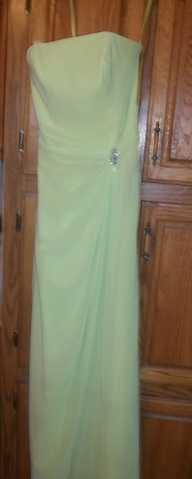 Beautiful Lime Green Prom Dress!