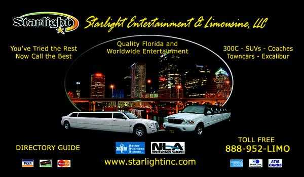 Starlight Entertainment & Limousines