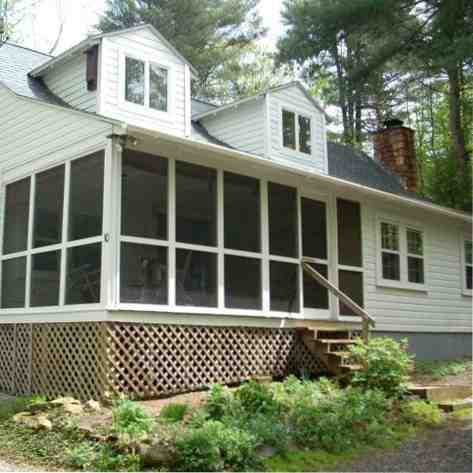 Berkshires Home For Rent, 40 Acres, Lake Garfield Frontage