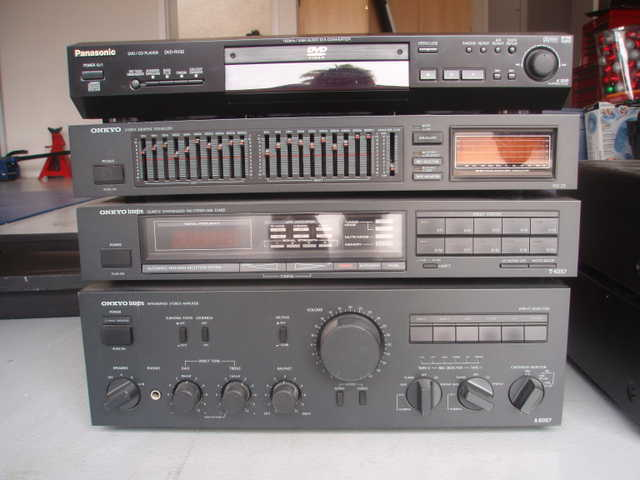Onkyo Stereo Equipment