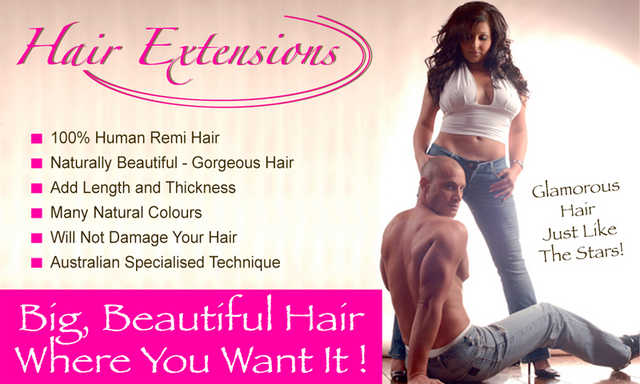 Hair Extensions - Australian Specialised Technique!
