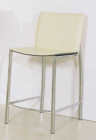 Black, Chocolate, Beige Leather Counter Stool 50% Off!