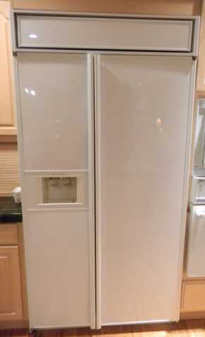 Kitchen Aid Refrigerator - White