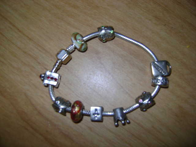 Chamillia Bracelet With 10 Charms