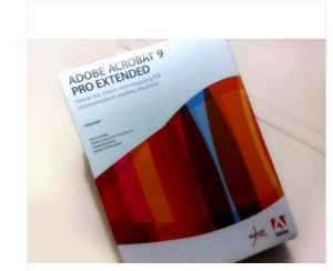 Adone Acrobat 9 Pro Extended - Pc Software