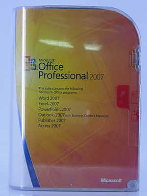 Microsoft Office 2007 Professional - Brand New Sealed Box