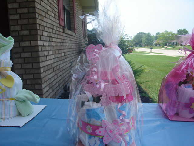 Diaper Cakes - Great Gifts