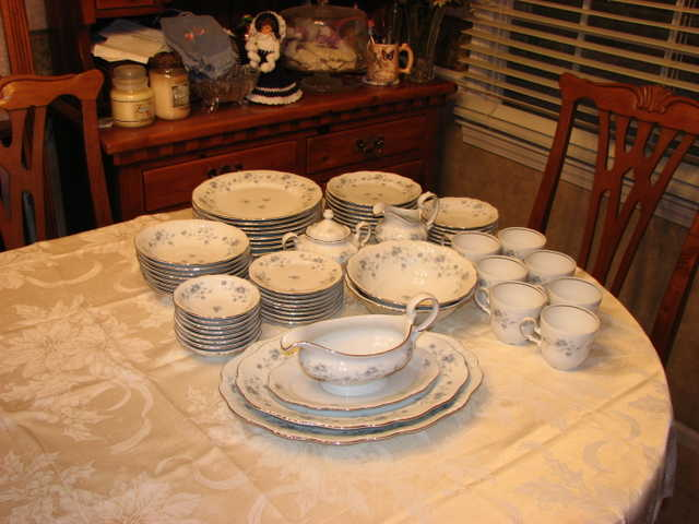 Johann Haviland Blue Garland China Set
