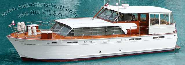 Award Winning 1960 50' Chris Craft Constellation
