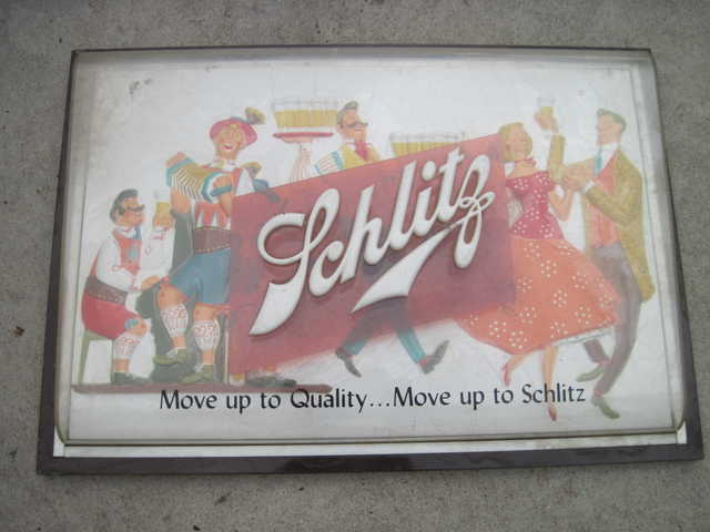 Old Schlitz Sign