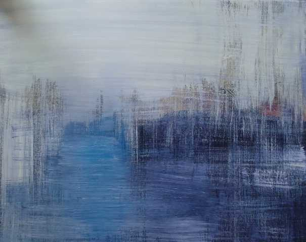 Rain In Venice - Original - Sold By Artist - Canvas - $85