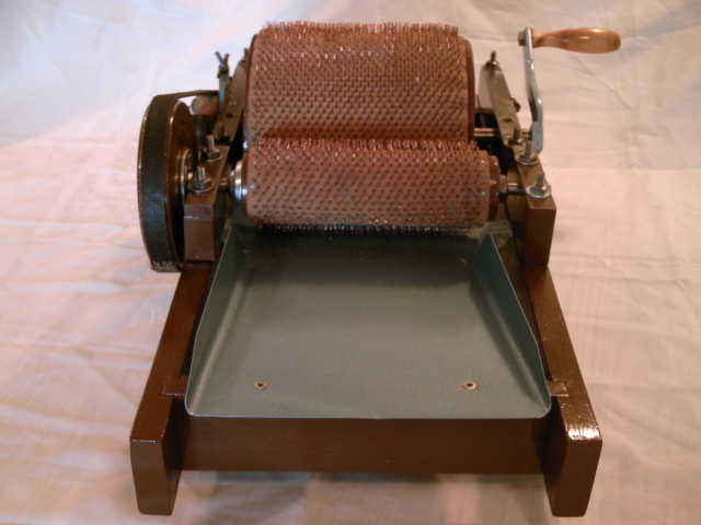 Antique Wool Drum Carder Replicas