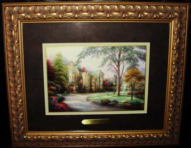 Thomas Kinkade Collectors Society Print