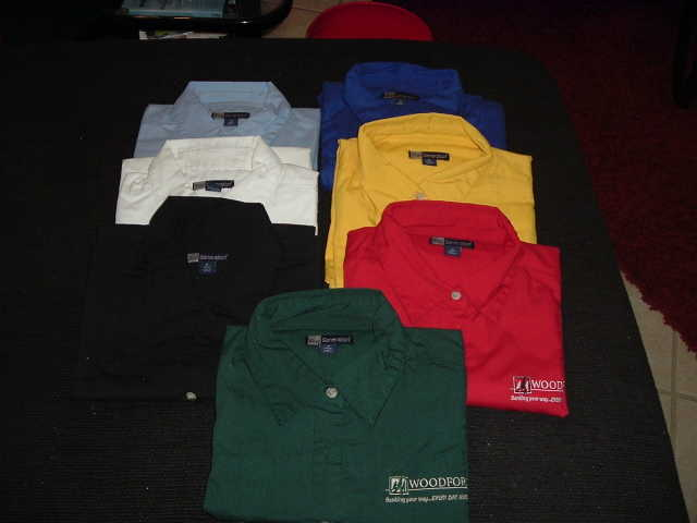 Woodforest Bank Shirts - $85