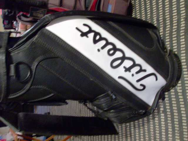 Leather Leist Golf Bag For
