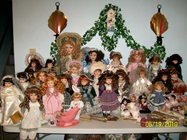 Collectible Dolls, Angels, Gumball Machine