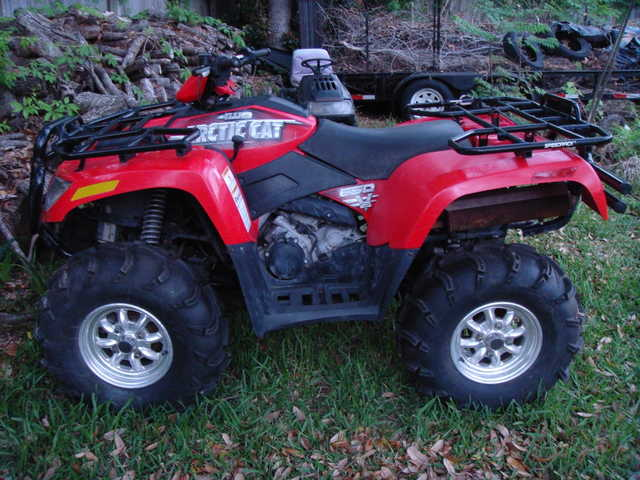 2006 Artic Cat 4 Wheeler 650cc