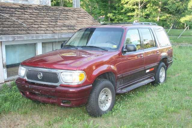 2000 Mercury Mountaineer 4x4