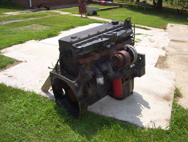 Cummings M11 Plus Diesel Engine