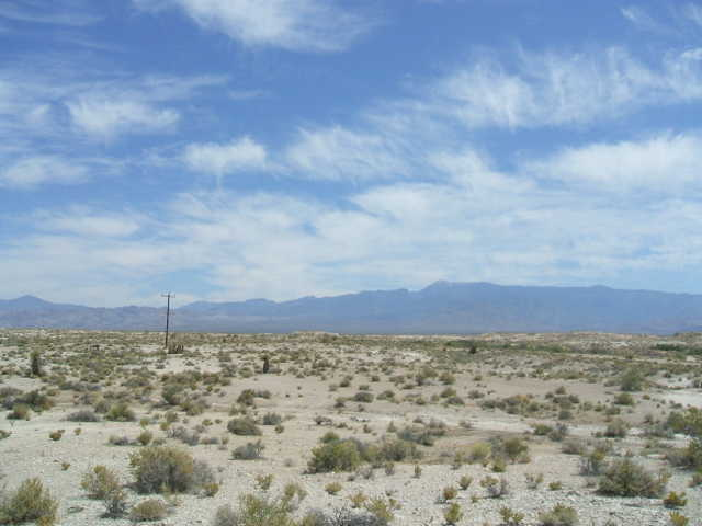 40 Acres Off Hwy 160 Near Pahrump. 40 Miles From Las Vegas.