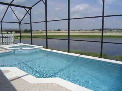 Pool Home Spa Waterview Close 2 Disney