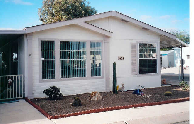 2 Br Manufactured Home In Trails West 55+ Community