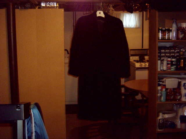 Black Ranch Mink Coat
