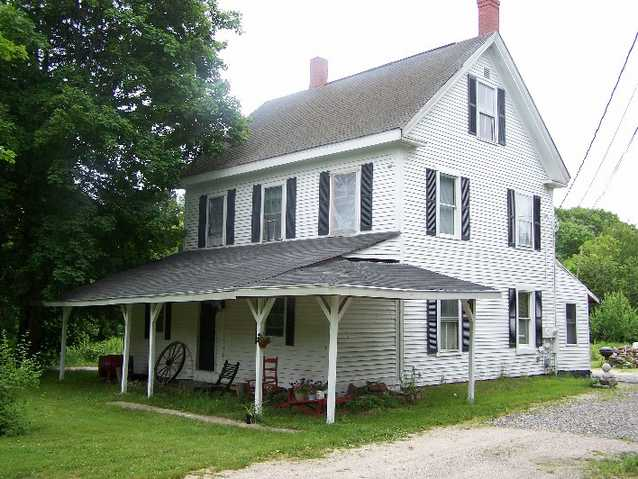 9 Room, New England Style House