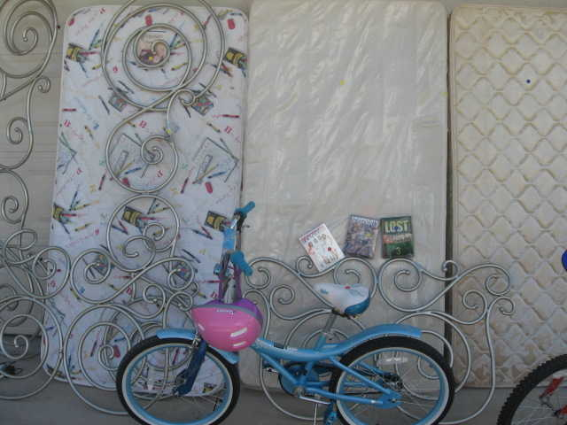 Mattress, Bike, Dvds, Cinderella Carriage