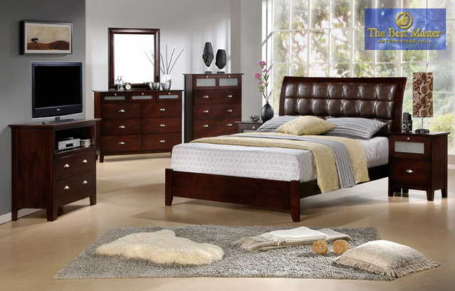Sara Collection 4 Pc Ca King Sleigh Bedroom Set - 10% Off Sale!