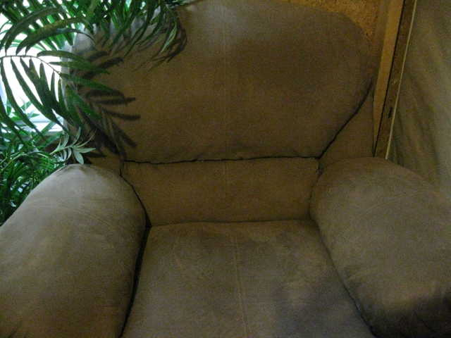 Leather Rocker / Recliner