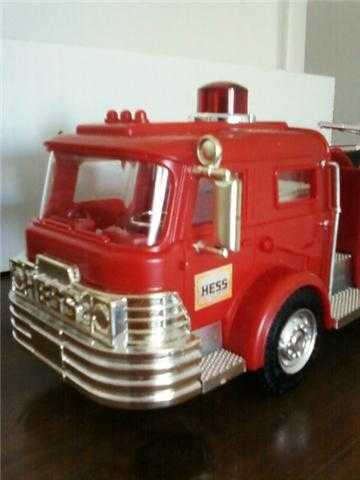 1970 Hess Toy Fire Truck (Mint - In - Box) Condition