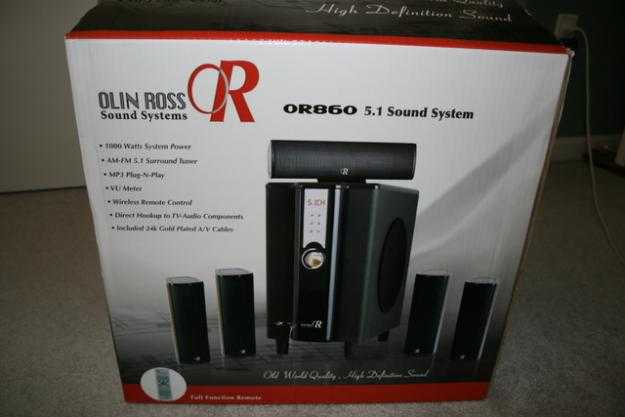 Olin Ross Or860 Surrond Sound System