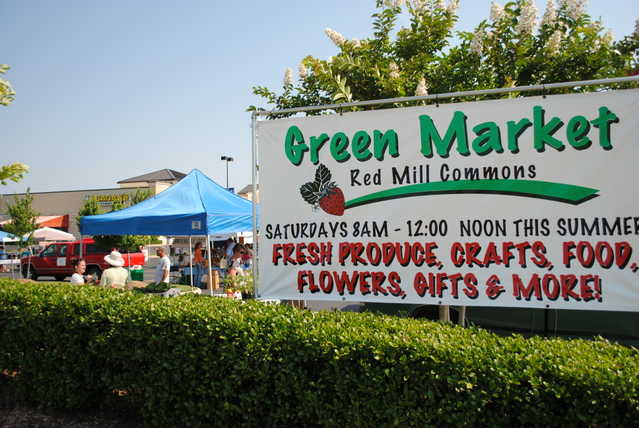 Red Mill Green Market In Red Mill Commons Shopping Center