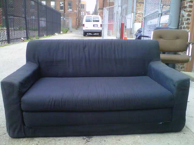 Black Ikea Couch